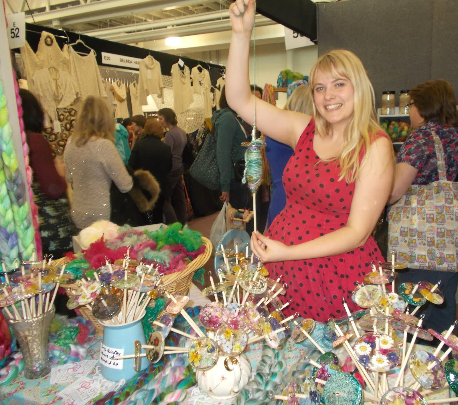 mariannas lazy daisy days: The Spring Knitting and Stitching Show 2016