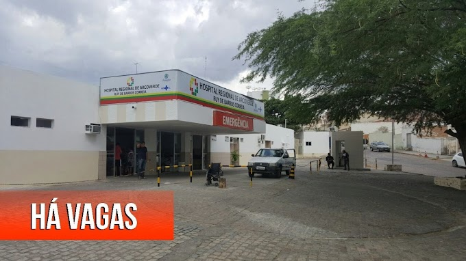 Hospital Regional Ruy de Barros Correia abre processo seletivo