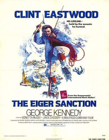 Poster Of The Eiger Sanction 1975 Dual Audio 150MB BRRip HEVC Mobile ESubs Free Download Watch Online Worldfree4u