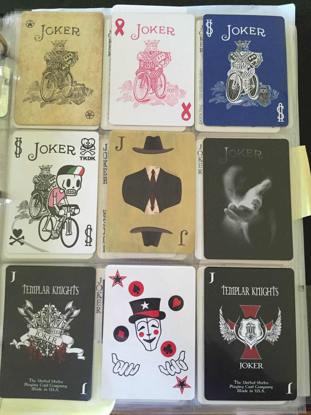 Amused by Jokers am I!: Bicycle Playing Card Jokers