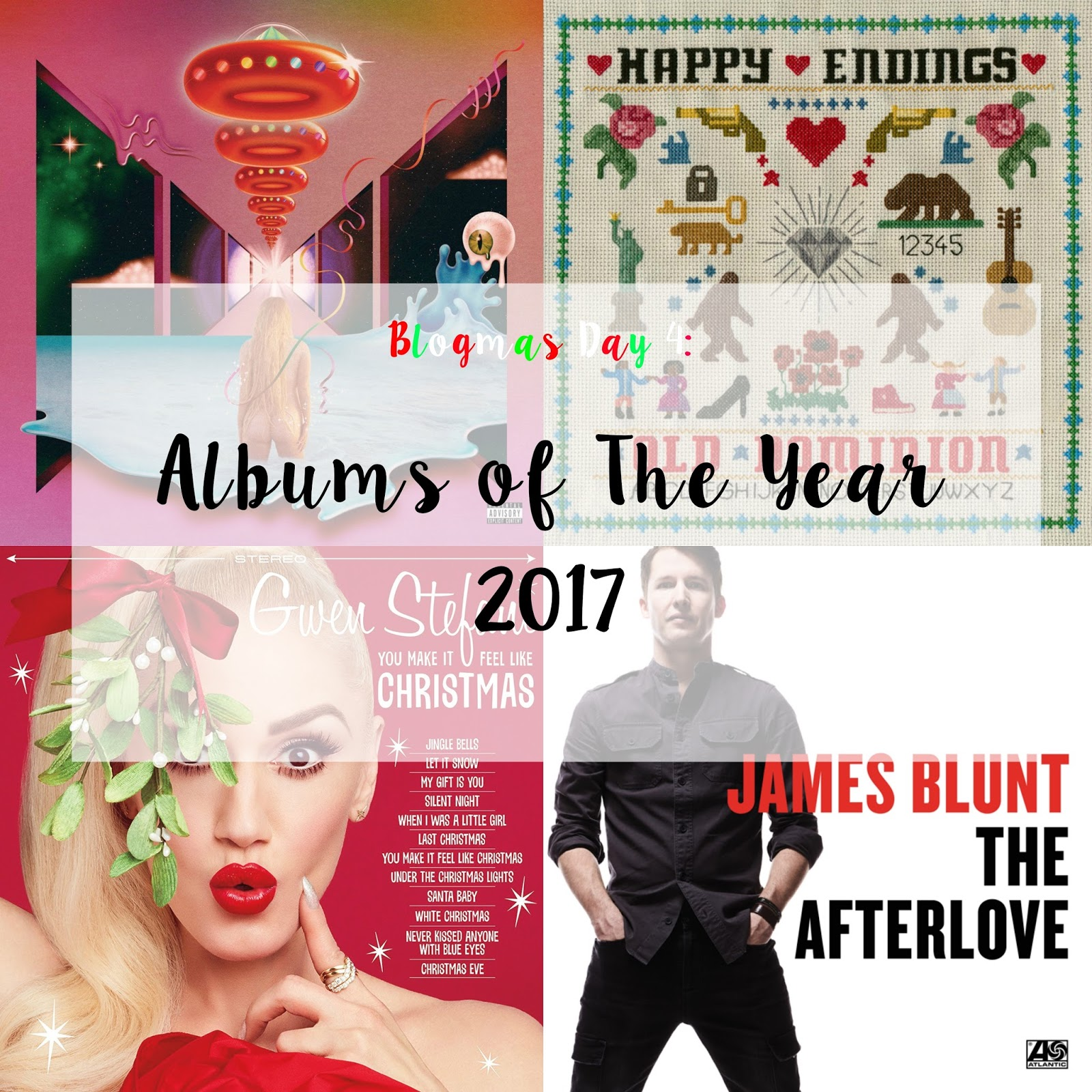 Blogmas Day 4: Albums Of The Year 2017