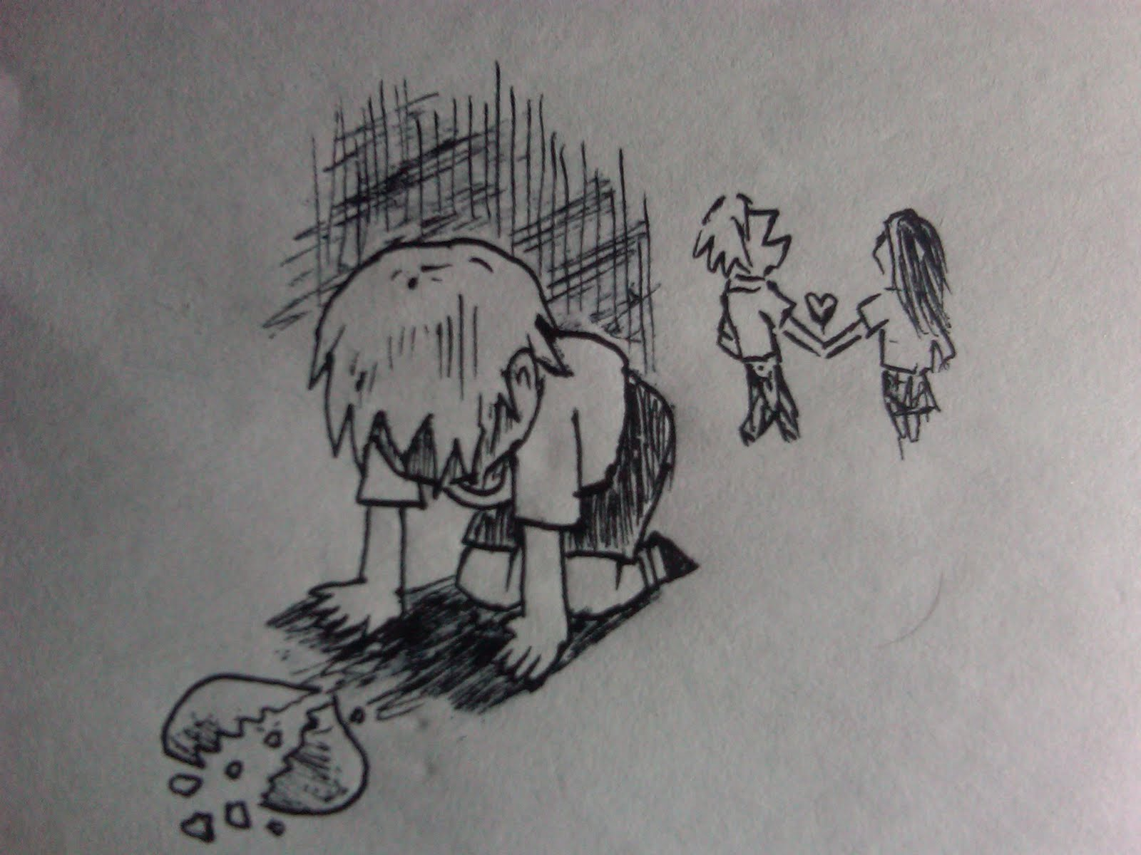 96 Gambar Kartun Patah Hati Dan Kecewa Terbaru Cikimm Com
