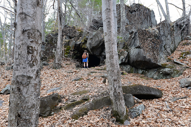 Bear Caves at Catamount State Forest