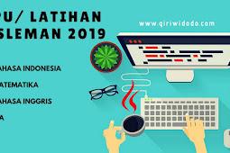 Download Soal TPMBK Kabupaten Sleman 2018 - Matematika