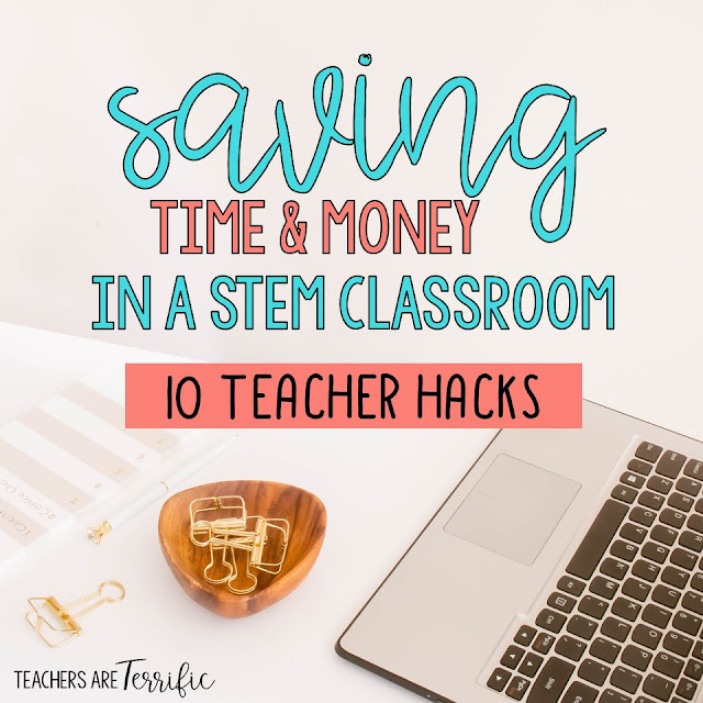 10 Teacher Hacks for the STEM Lab- This post has ideas and tips for making your lab life easier and maybe saving some money.