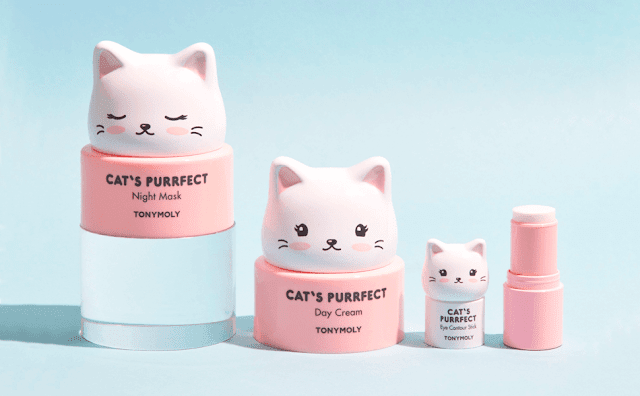 Tony Moly Cat's Purrfect Beauty Items Review By Barbies Beauty Bits