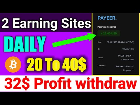32$ Profit live withdraw, New online earning site 2020 New Bitcoin Mining site new btc mining
