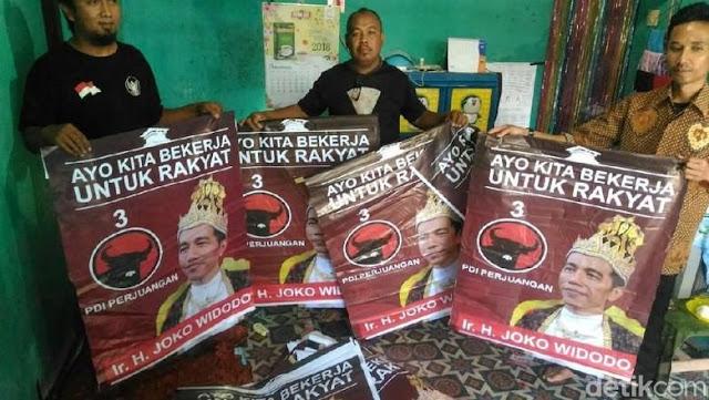 'Raja Jokowi' Banyumas Ternyata Dipasang Pro-Jokowi