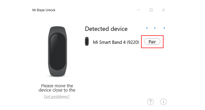 Cara Unlock Windows 10 dengan Mi band 3 dan Mi band 4