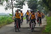 Polres Purbalingga Isi Olahraga  dengan Bersepeda