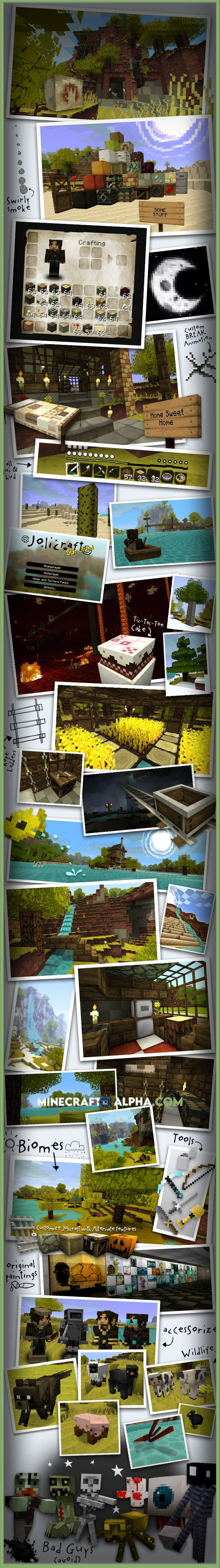 Minecraft Jolicraft Texture Pack For 1.17