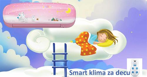 Decije klime Midea Kids Star