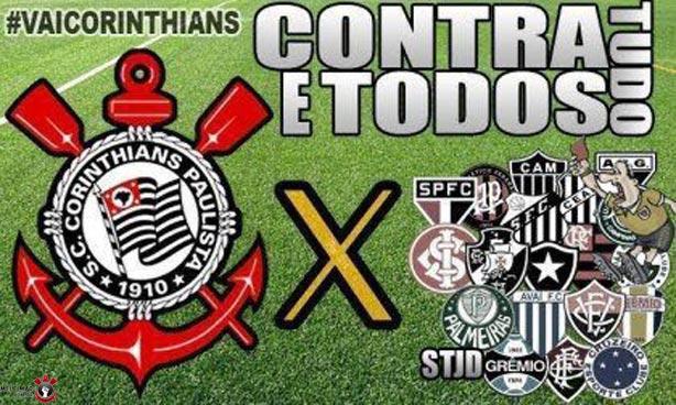 f0ded730ce Nesta quarta é o Corinthians contra tudo e contra todos ~ Jornalista ...