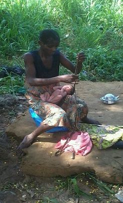 Photos Mad Woman Gives Birth To Baby Girl Inside Bush In