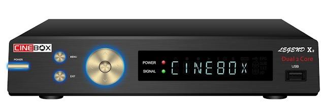 Cinebox Legend X2 ACM Nova Atualização - 26/03/2020