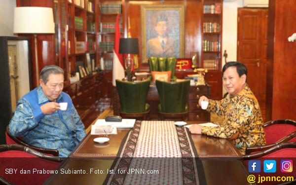 Prabowo dan SBY Ketemu Lagi Bahas Cawapres