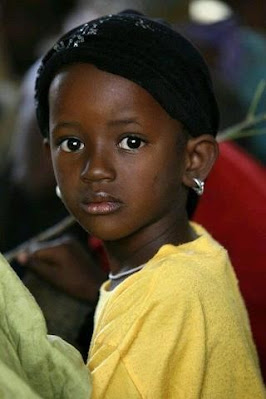 pretty African girl