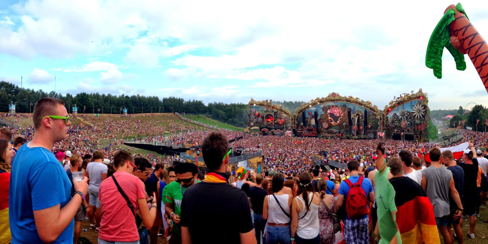 tomorrowland 2014 main stage martin garrix
