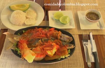 Viudo de Pescado recetas de comida colombiana