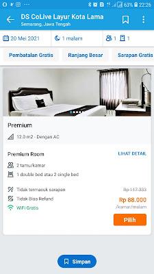 bayar hotel traveloka