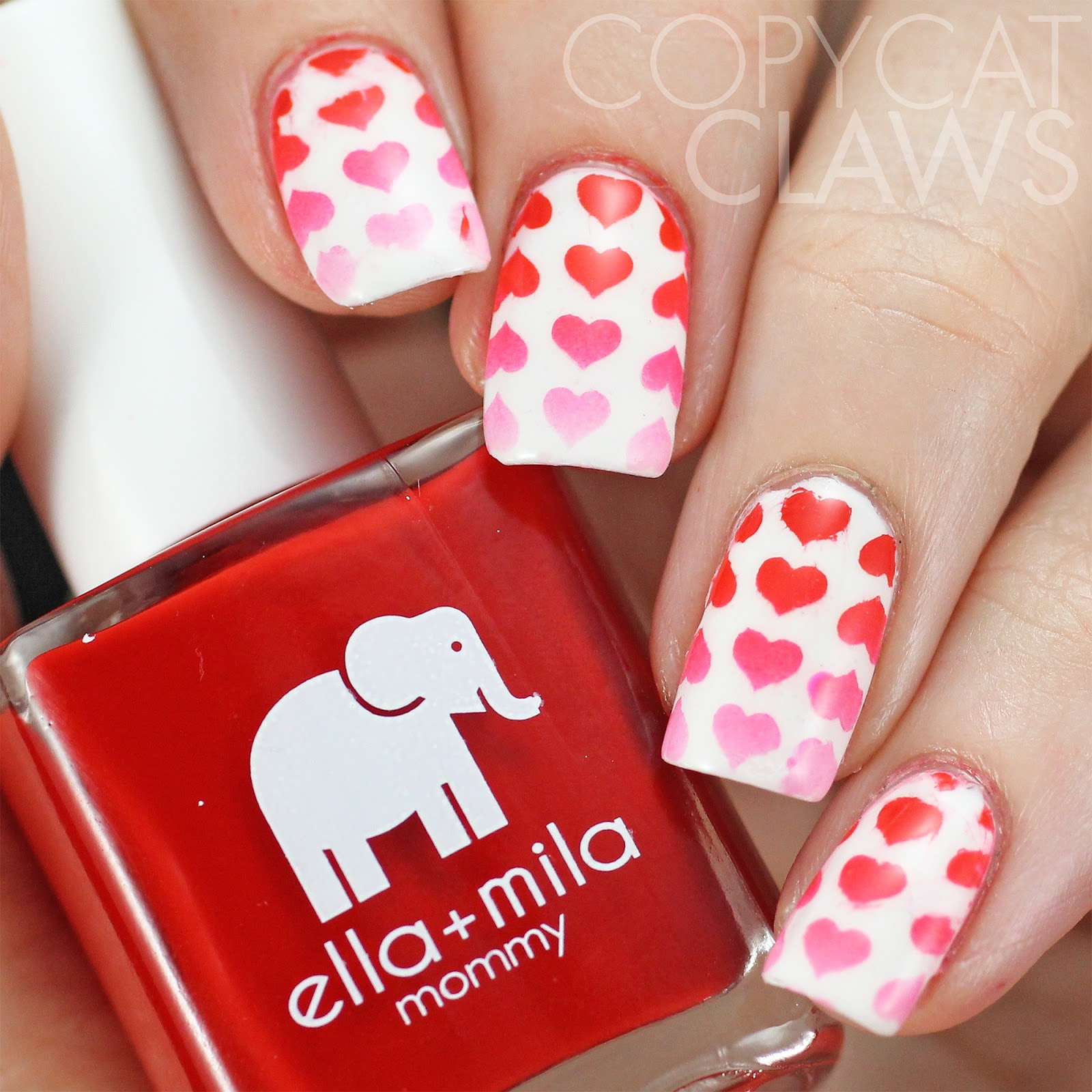 Copycat Claws: Sunday Stamping - Valentine\'s Day