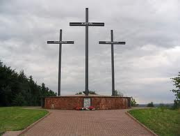 MEMORIAL TO VICTIMS OF KATYN MASSACRE, SMOLENSK RUSSIA