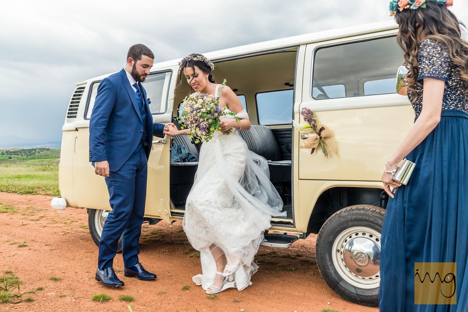 Fotografía de boda en el medio natural