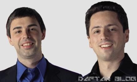 Larry Page dan Sergey Brin - Pendiri Google
