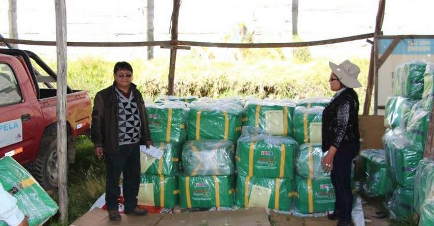 DRE Puno distribuirá kits de soporte pedagógico y kits de actividades lúdicas para enfrentar heladas y friaje - www.drepuno.gob.pe