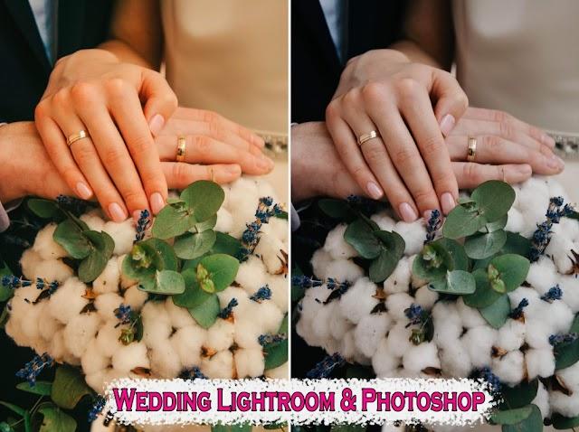 فلاتر فوتوشوب و لايت روم لصور الزفاف احترافية 2020