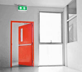 portas corta-fogo