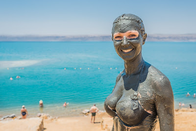 Процедуры по уходу за телом в мертвом море