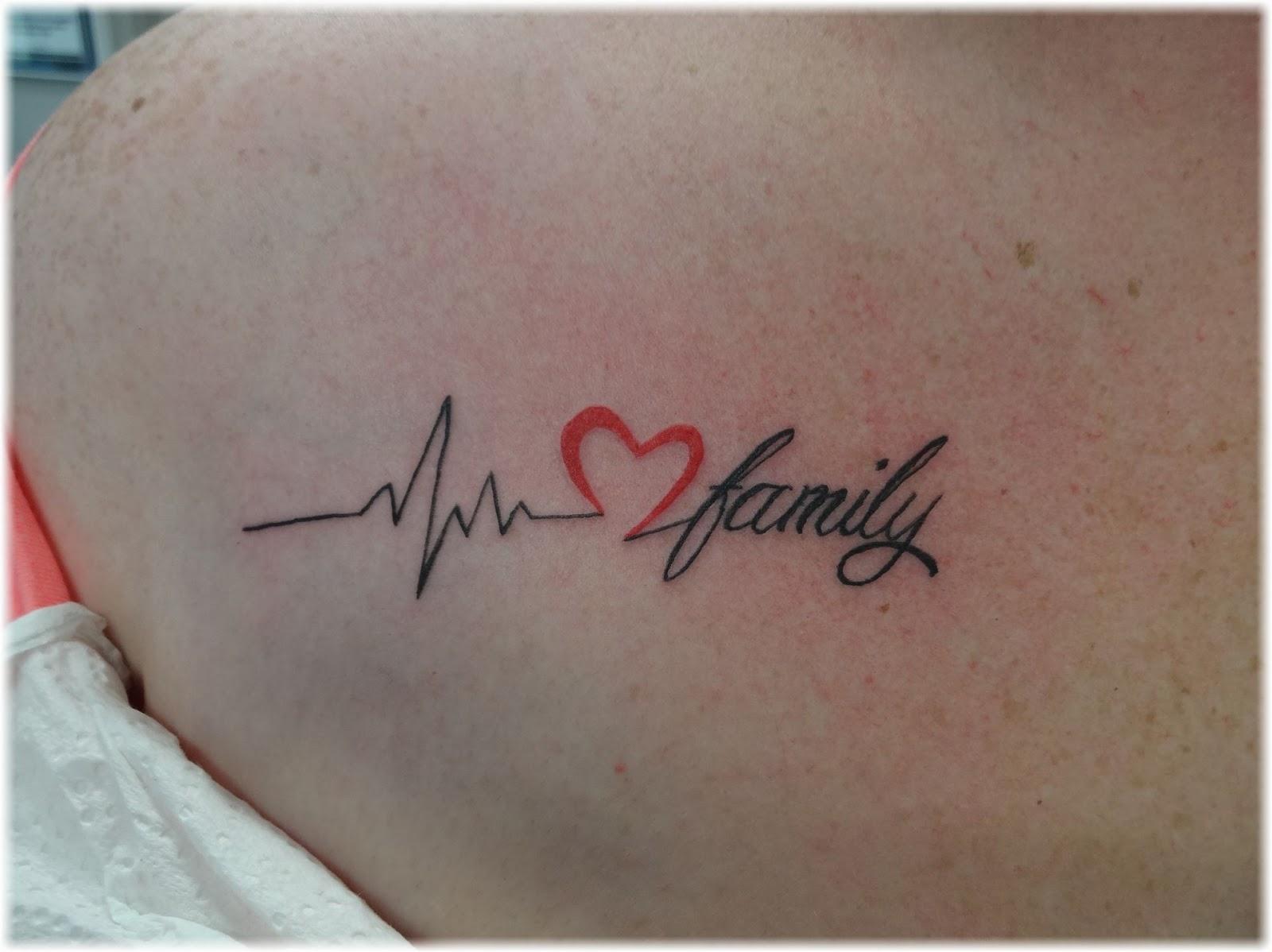 Mytattooland.com: Heart rate tattoo ideas
