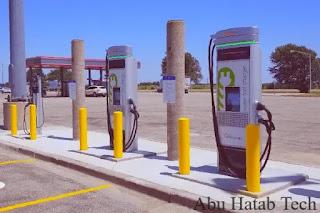دولة ألمانيا  قامت بتفويض ووضع  شواحن محطت الشحن الكهربائية  EV في جميع محطات الوقود
