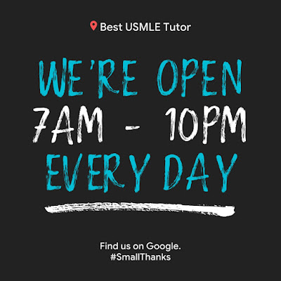 BEST USMLE TUTOR: Hours