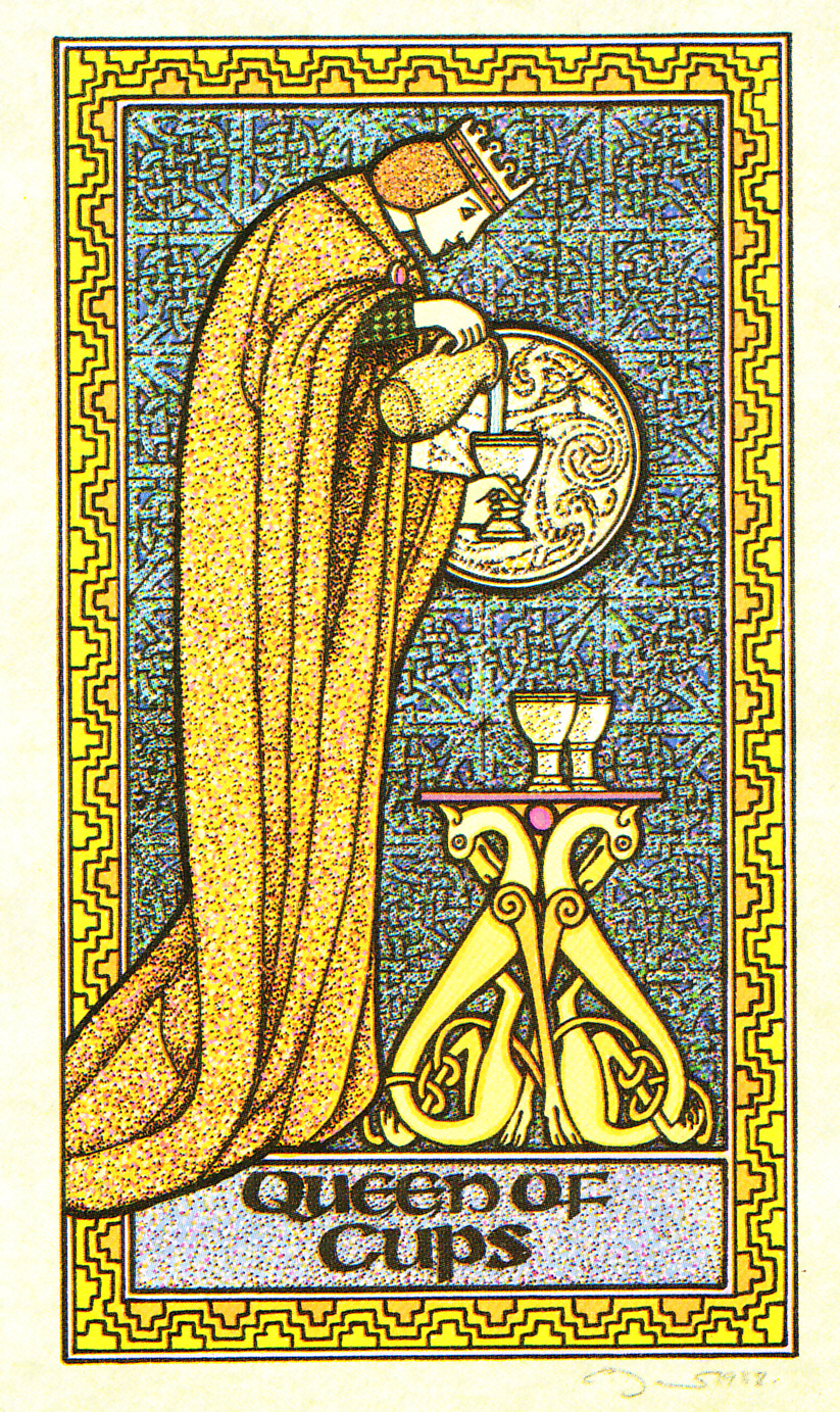 Rowan Tarot December 2012: Rowan Tarot: The Queen Of Cups? You're Kidding, Right?