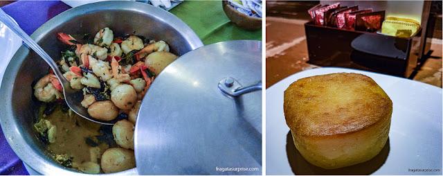 Frutos do mar e bolo Souza Leão, pratos típicos de Recife