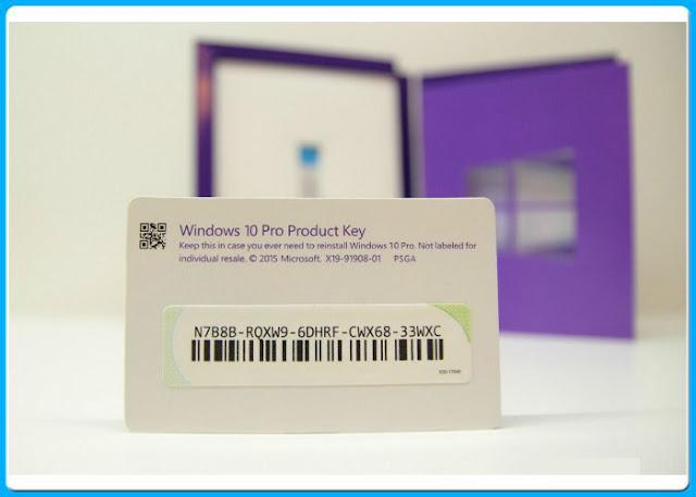 windows 10 key ürün anahtarı