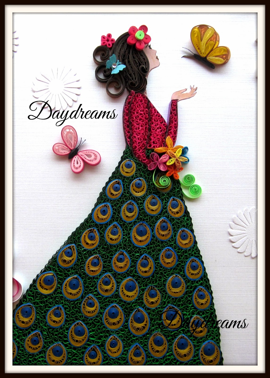 DAYDREAMS Quilled Girl