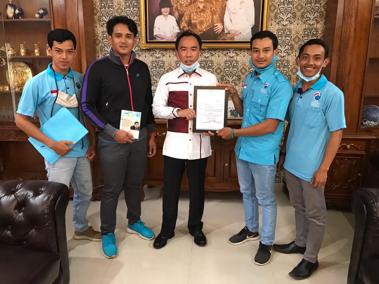 Berikan surat Rekomendasi ke Adipati, Partai Gelora Way Kanan usul 5 program pembangunan siap berkolaborasi