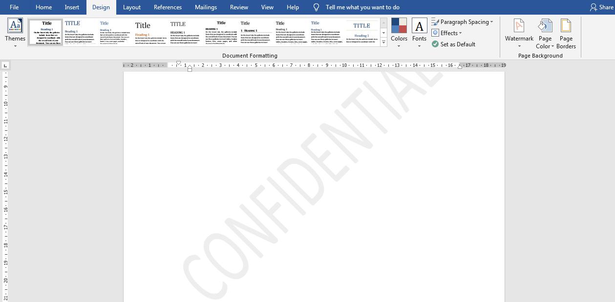 Cara Menghilangkan Watermark Di MS Word Dengan Mudah