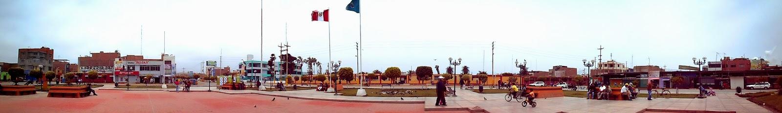Plaza de Paramonga