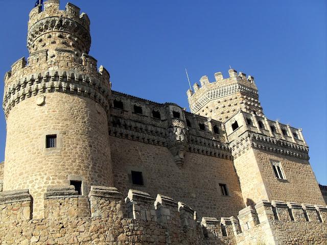castillo de manzanares en madrid