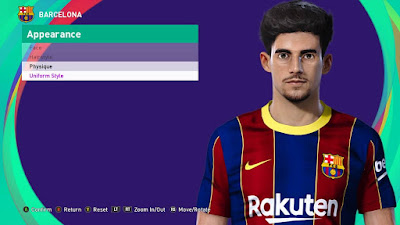 PES 2021 Faces Francisco Trincao by SR