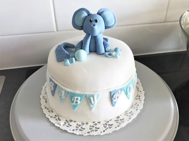Baby Boy Babyshower kakku