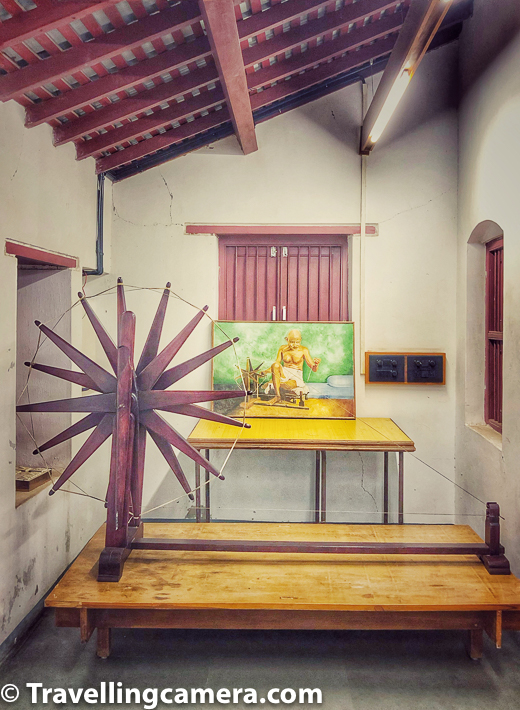 If you visit Ahmedabad, we do recommend that you visit the Sabarmati Ashram once. If nothing else, it would calm you and also give you a lot of food for thought.