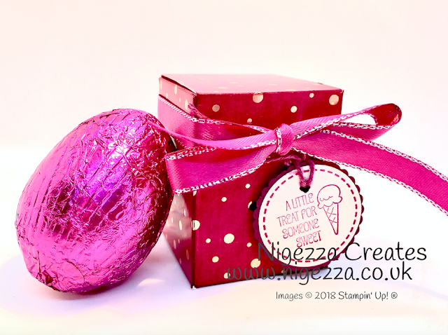 Mini Easter Egg Box 2 Springtime Foils