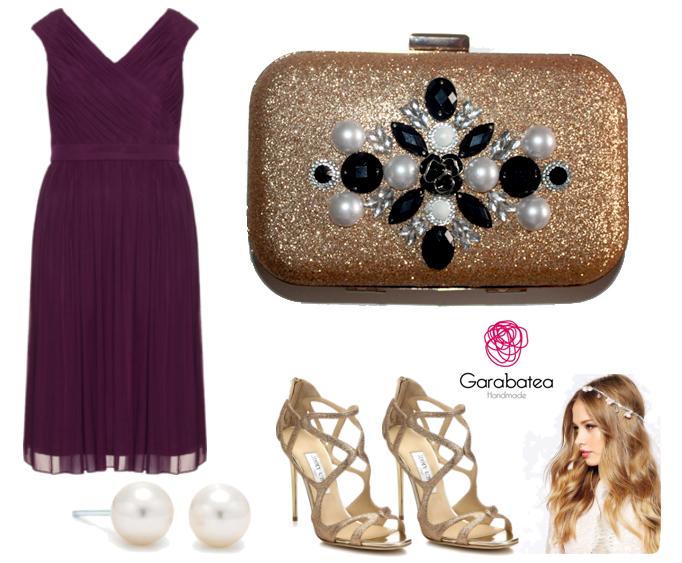 Lara garabatea como combinar un vestido morado - Combinar color lila ...