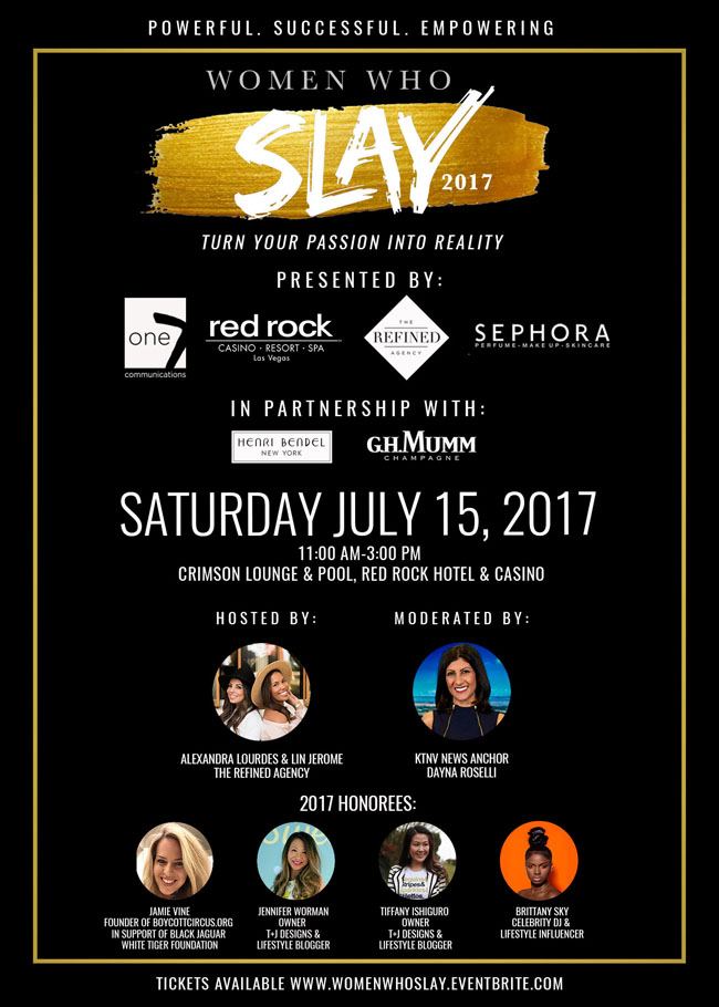 Women Who Slay Event, The Refined Agency, Red Rock Hotel
