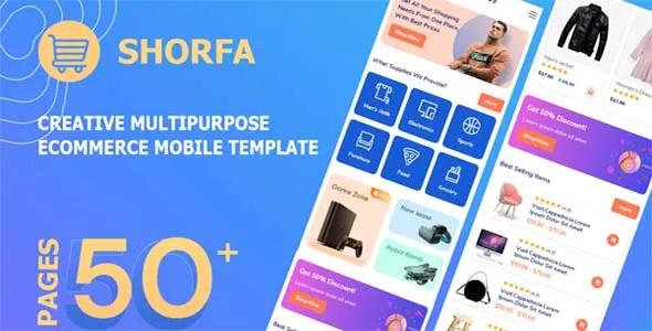 Best Multipurpose eCommerce Mobile Template